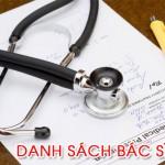 Danh sách bác sĩ – Data khách hàng bác sĩ